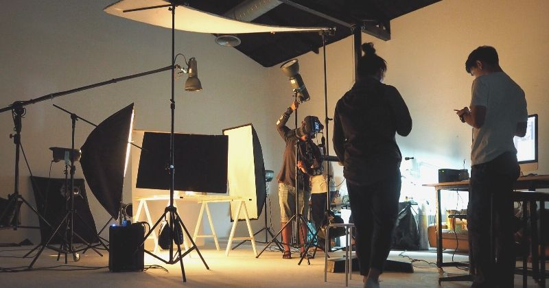 Cinemacon 2020 tickets   silhouette people working production studio shooting   cinemacon 2020 - national association of theatre owners
