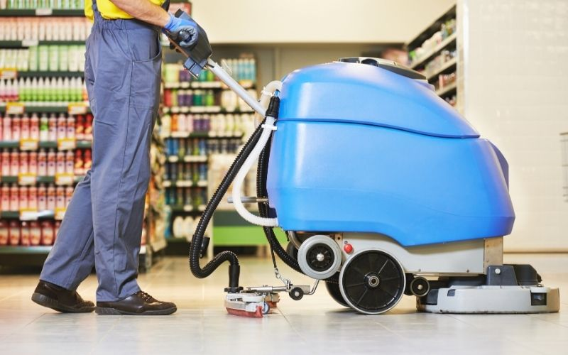 Floor care cleaning services washing machine   the experience convention & trade show 2021