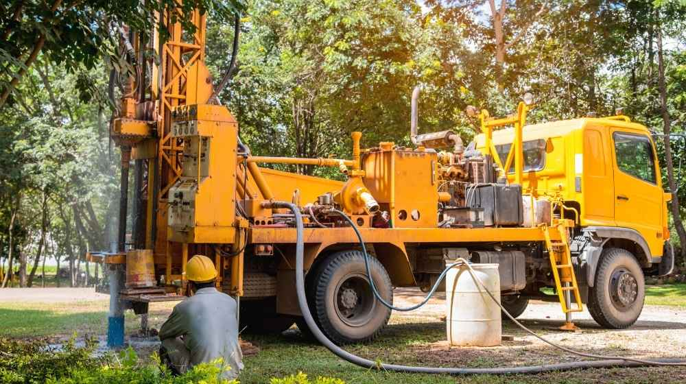 Ground water hole drilling machine installed | groundwater week 2022 | featured